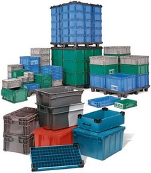 Tote Boxes from SALIS PLASTIC CO LLC