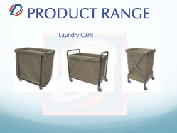 Laundry Carts Trolley In DUBAI from DAITONA GENERAL TRADING (LLC)