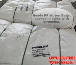 Heavy Duty PP HDPE Woven Bags and Sacks from AAVYA INDUSTRIES PVT LTD