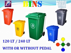 Garbage Bins Supplier In UAE from DAITONA GENERAL TRADING (LLC)