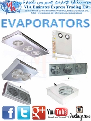 EVAPORATOR COOLERS & FROZEN وحدة تبريد وتجميدثلاجة from VIA EMIRATES EXPRESS TRADING EST