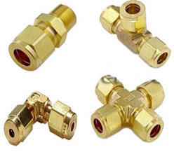 BRASS QUICK CONNECTORS from POOJA METAL INDUSTRIES