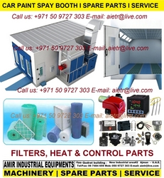 Car Paint Spray booth Filter parts in Dubai UAE  from AMIR INDUSTRIAL EQUIPMENTS