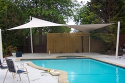 Swimming Pool Shades from DOORS & SHADE SYSTEMS