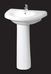 Wash basin with pedestal from SAFAL OVERSEAS