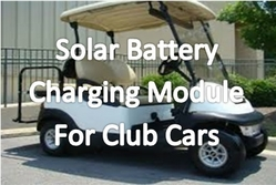 SOLAR PANEL FOR GOLF CARTS from EMIRATESGREEN ELECTRICAL & MECHANICAL TRADING