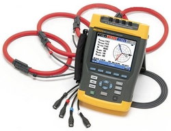 Three-Phase Power Quality Meters - FLUKE from SYNERGIX INTERNATIONAL