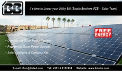 Solar Photovoltaic System from BHATIA BROTHERS FZE