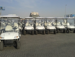 GOLF CARS & CARTS in uae from ECARS UAE