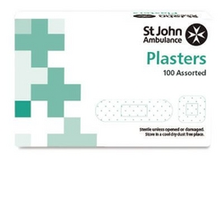 Fabric plasters St John Ambulance, assorted - pack from ARASCA MEDICAL EQUIPMENT TRADING LLC