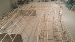 Steel Structure Trus from ABDUL JABBAR GENERAL CONTRACTING L.L.C.