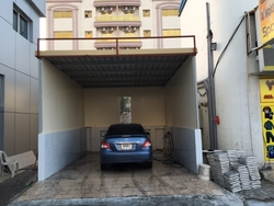 CAR PARKING SHED UAE  from WHITE METAL CONTRACTING LLC