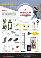 FALL PROTECTION IN UAE from KARAM SAFETY DMCC