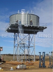 Steel Bolted Tanks from BERG ENGINEERING CO LLC