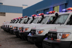 TOYOTA 4X4 AMBULANCE from AUTO ZONE ARMOR & PROCESSING CARS LLC