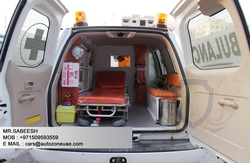 AMBULANCE MANUFACTURER IN DUBAI  from AUTO ZONE ARMOR & PROCESSING CARS LLC