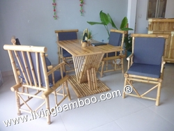 Bamboo Dining Table, Bamboo Furniture from TRE LANG LIVING BAMBOO CO., LTD