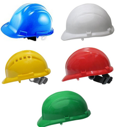 SAFETY HELMET SUPPLIERS IN UAE from GOLDEN DOLPHINS SUPPLIES