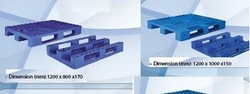 Pallets Plastic Euro Standard cargo Pallets Pallet from SB GROUP