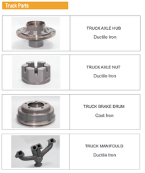 Engineering Casting Truck Parts from GREEN FIELDS DRAINAGE