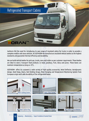 Refrigerated Transport Cabins from ISOTHERM INSULATIONS FZE