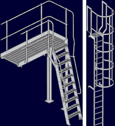 CAT LADDER DUBAI from WHITE METAL CONTRACTING LLC