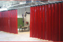 Welding Curtains Red  from EXCEL TRADING COMPANY - L L C