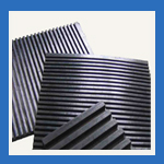 Rubber Ribbed Mats in UAE from ISMAT RUBBER PRODUCTS IND