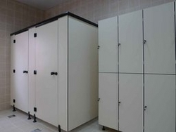 Toilet Cubicles and Lockers Supplier Abu Dhabi from MEDITERRANEAN BUILDING MATERIALS