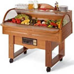 BUFFET SERVICE TROLLEY SUPPLIERS IN UAE from COMPLETE KITCHEN SOLUTIONS FZE