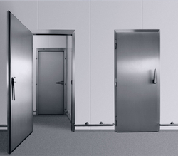 INSULATED DOOR SYSTEM IN UAE from ISOTHERM INSULATIONS FZE