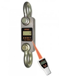 PORTABLE CRANE SCALES WITH LCD DISPLAY MODEL:DTEZ from AL WAZEN SCALES & DRY MEASURES TRADING (L.L.C)