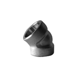 45 Deg Elbow Forged Pipe Fittings from SIMON STEEL INDIA