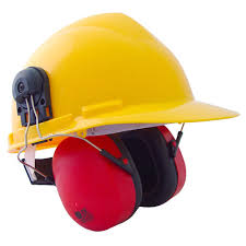 Ear Muff With Helmet,SAFETY HELMET, EAR MUFF. from CLEAR WAY BUILDING MATERIALS TRADING