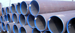 Carbon Steel ERW Pipes from DHANLAXMI STEEL DISTRIBUTORS