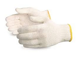 Knitted Safety Gloves White from CLEAR WAY BUILDING MATERIALS TRADING