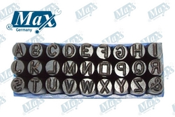 Letter Punch Set (A-Z) 6 mm from A ONE TOOLS TRADING LLC