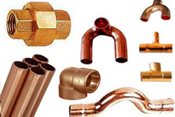 COPPER PIPE FITTINGS from JAI AMBE METAL & ALLOYS
