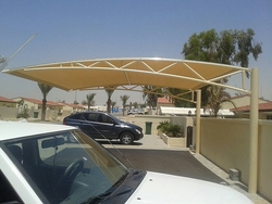 Car Parking Shade in UAE +971522124675 from BAIT AL MALAKI TENTS AND SHADES +971522124675