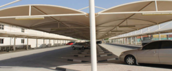Parking Shades in UAE from BAIT AL MALAKI TENTS AND SHADES +971522124675