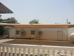 Car parking Shades Manufacturers in UAE from BAIT AL MALAKI TENTS AND SHADES +971522124675