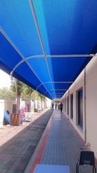 Polycarbonate Parking Shades Suppliers in UAE from BAIT AL MALAKI TENTS AND SHADES +971522124675