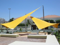 Pool Shades Suppliers in UAE from BAIT AL MALAKI TENTS AND SHADES +971522124675