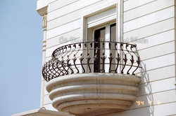 Wrought Iron Security Bars For Balcony from DUBAI ARTS METAL CONST.IND.LLC