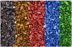 Rubber Mulch from M.V. RUBBERS