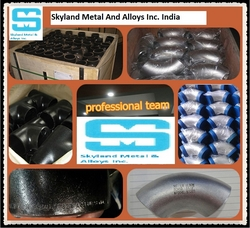 CARBON STEEL SEAMLESS PIPE & PIPE FITTINGs from SKYLAND METAL & ALLOYS INC
