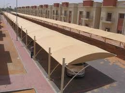 Car Park Shades in Abu Dhabi +971522124675 from BAIT AL MALAKI TENTS AND SHADES +971522124675