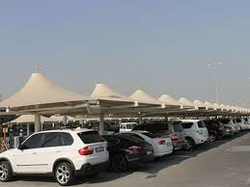 Car Park Shades in Alain +971522124675 from BAIT AL MALAKI TENTS AND SHADES +971522124675