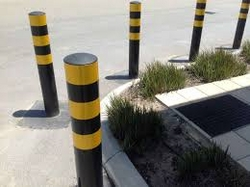 Bollards and Barrier from EURO STEEL AND ALUMINIUM LLC