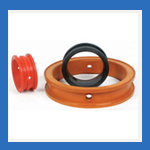 Rubber Valve Liner/Diaphragm from ISMAT RUBBER PRODUCTS IND